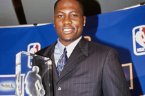Elton Brand won the prestigious NBA Rookie of the Year Award.