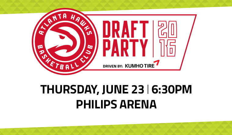 RSVP Here For The Draft Party!