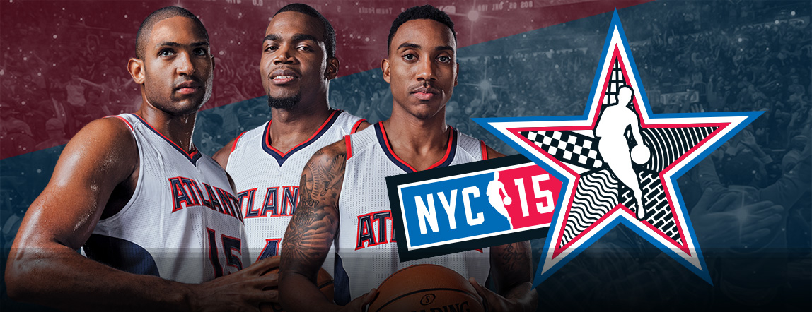 Horford, Millsap & Teague Selected as All-Stars!