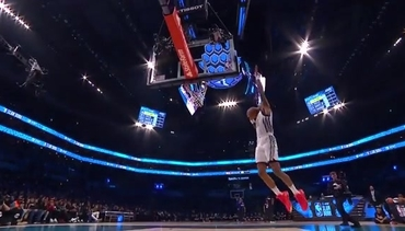 VIDEO: John Collins Shows Out For Dunk Contest