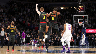 7eaf9c8a1cb Kevin Huerter and Trae Young Named To NBA All-Rookie Teams