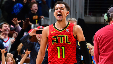 Trae Young Named Finalist for Kia NBA Rookie of the Year