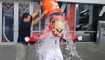 Harry's Ice Bucket Challenge