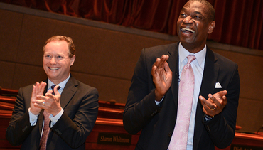 17 Cool Photos From Dikembe Mutombo Day