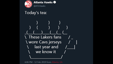 Top Tweets from the 2018-19 Season