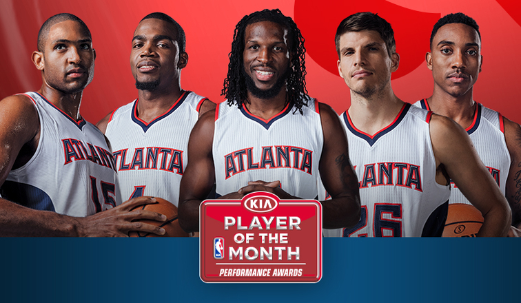 Hawks Starting Five Share Kia Eastern Conference Player of ...