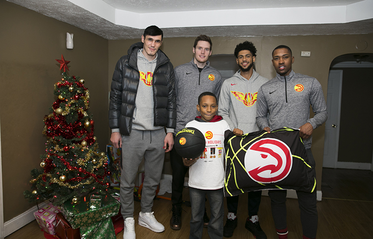 Hawks Deliver And Assemble 50 Beds To Local Children In Need
