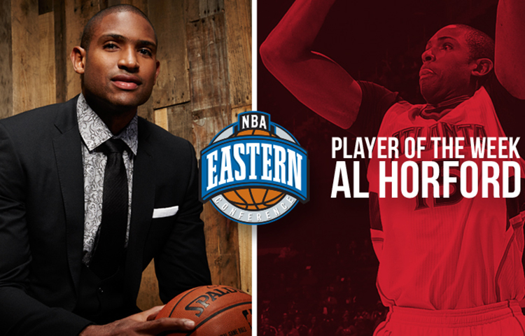 Al Horford player of the week