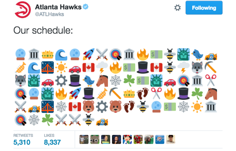 Schedule Atlanta Hawks