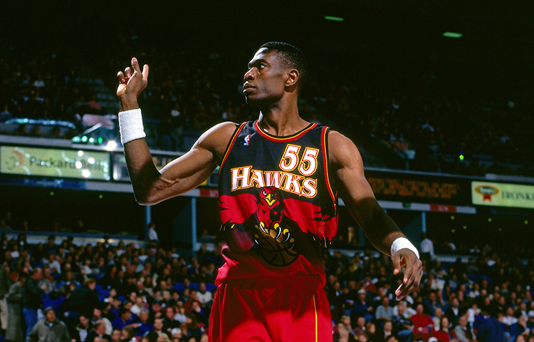 Image result for dikembe mutombo hawks