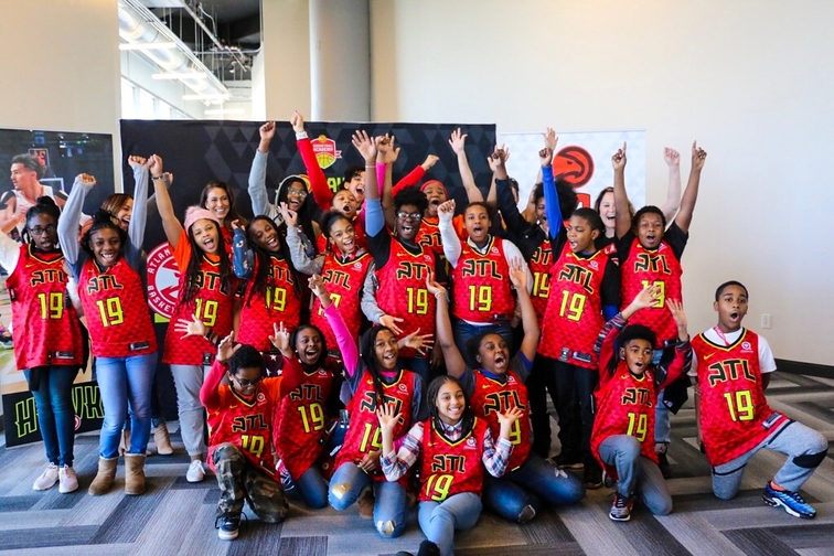 Atlanta Hawks Honor Dr Martin Luther King Jr With Dream Day Youth