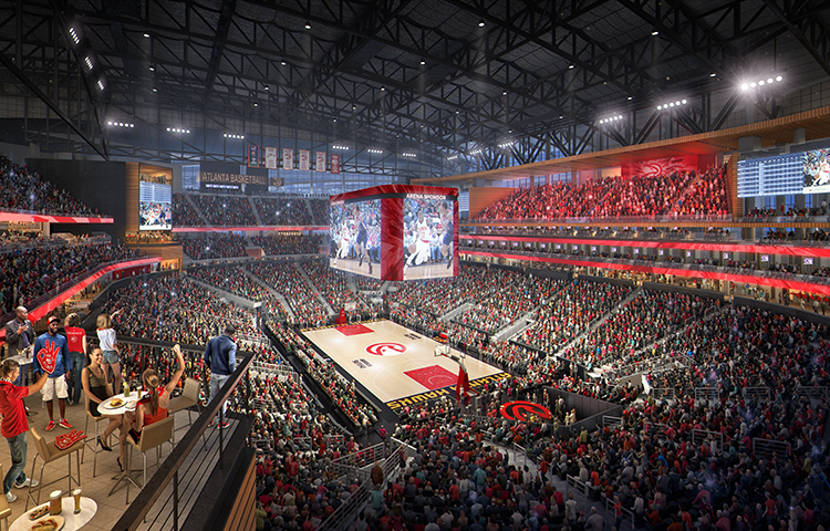 Hawks Announce Plans To Transform Philips Arena Into New
