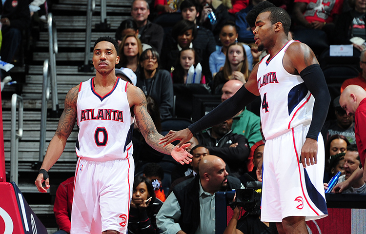 Jeff Teague and Paul Millsap