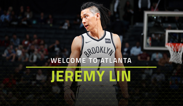 6ef1ce7fcc3 Atlanta Hawks Acquire Jeremy Lin From Brooklyn Nets | Atlanta Hawks