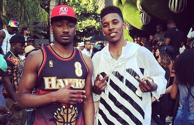 John Wall and Nick Young