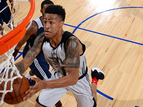 John Collins' Top Photos of 2017 Summer League