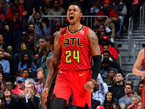 Top Photos of the  2018-19 Season: Kent Bazemore