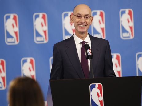 Q & A With NBA Commissioner Adam Silver