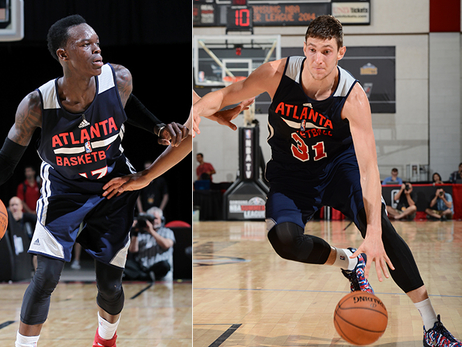 Dennis Schröder and Mike Muscala