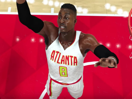 Here's What Dwight Howard, Kyle Korver and Kent Bazemore Look Like In 2K17