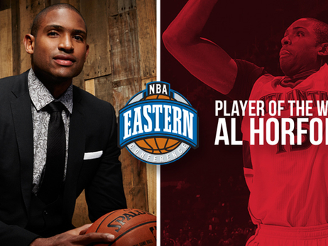 Al Horford Named NBA Eastern Conference Player of the Week