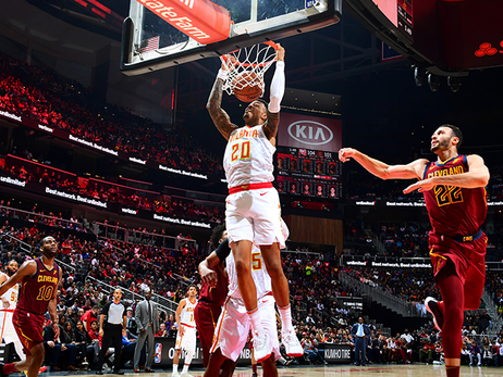 Hawks Hold Off Cavs For The Win