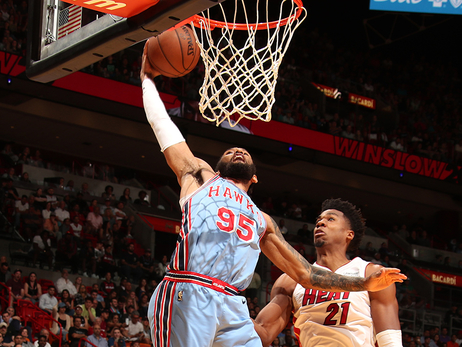 Hawks Battle But Come Up Short In Miami