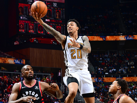 Hawks Start Off Strong But Can't Finish Against The Raptors