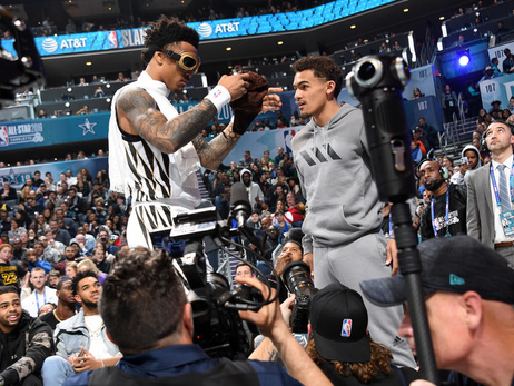John Collins, Trae Young Shine During All-Star Weekend Events