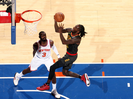 Hawks Can't Catch Knicks, Fall In Season Opener