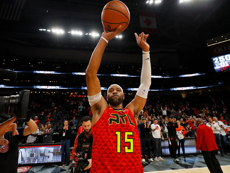 Vince Carter Joins NBA Greats, Slams Home 25,000th Point