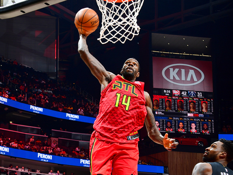 Hawks Catch Fire, Beat Wizards At Home