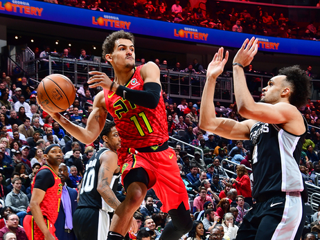 Hawks Put Up A Fight, Fall To Spurs Late