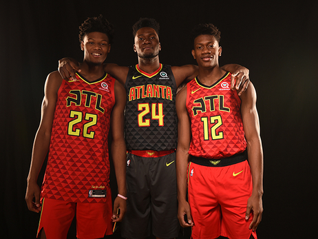 Young Hawks Receive Recognition in 19-20 Rookie Survey