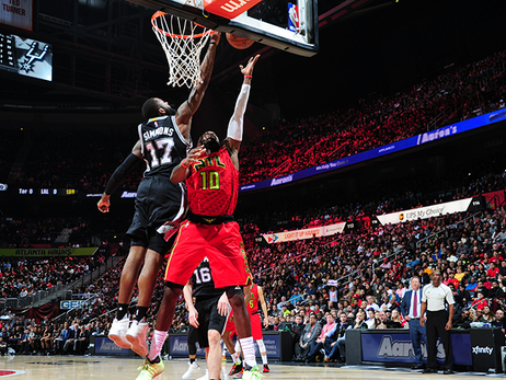 Hawks Start New Year With Thrilling Win Over Spurs