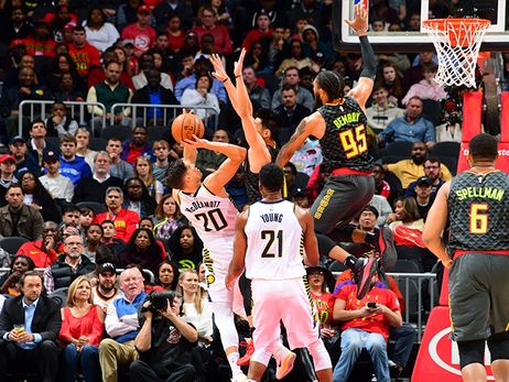Hawks Lose Close One To Pacers At Home