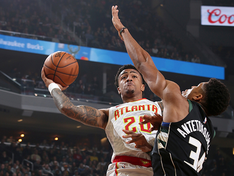 Hawks Fall To Strong Bucks Team In Milwaukee
