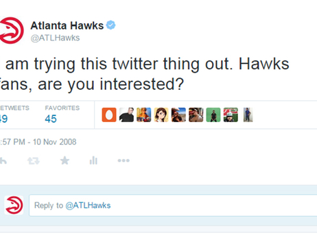 Hawks Twitter Used To Sound A LOT Different