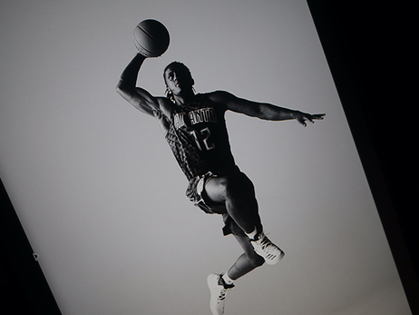 14 Behind-The-Scenes Photos From Day 2 of Hawks' Player Production Shoot