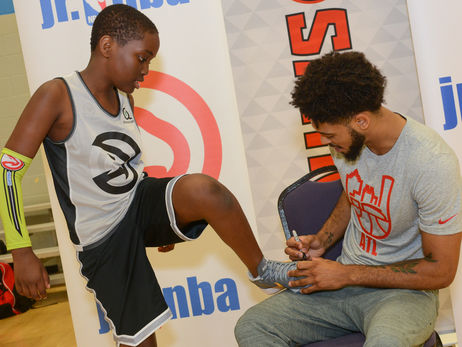 Tyler Dorsey Pops Up on Jr. Hawks Campers
