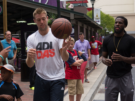 Jack Sock and DeMarre Carroll