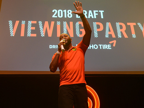 Let's Party: 2018 Member Draft Viewing Party
