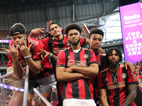 Hawks Unite and Conquer Atlanta United Match