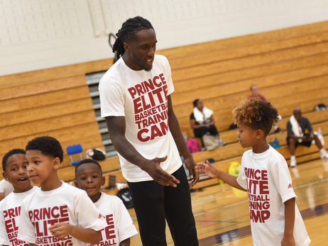 Taurean Prince Hosts Annual Elite Camp