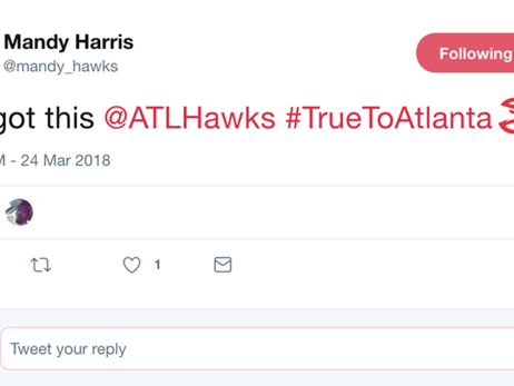 Hawks Fans Stay Up To Support The Squad