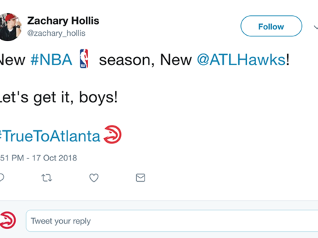 Hawks Fans Celebrate Start of NBA Season