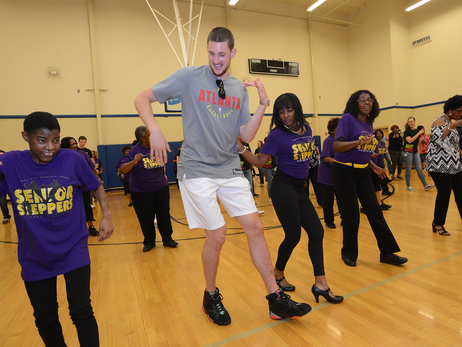 PHOTOS: Hawks Day Of Service