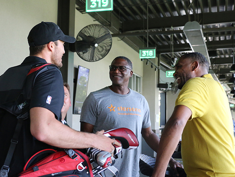 Alum Steve Smith Hosts Second Annual Topgolf Challenge for Children's Healthcare of Atlanta