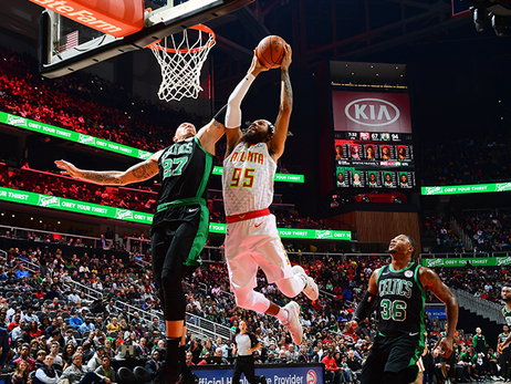 Hawks Not Enough, Fall To Celtics At Home
