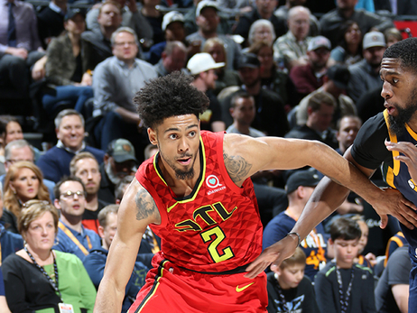 Hawks Snap Jazz's Nine-Game Win Streak